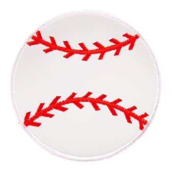 Baseball Iron-On Applique